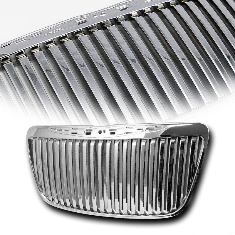 2011 2014 chrysler 300 chrome vertical bar grille