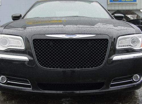 2011 2014 Chrysler 300 Black Bentley Mesh Grille