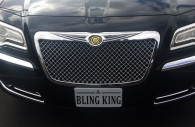 2013 chrysler 300 chrome bentley mesh grille
