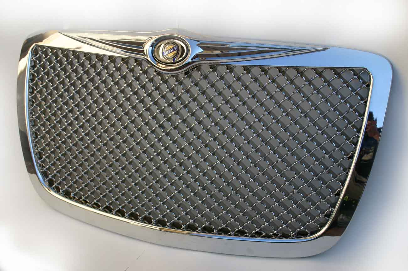 grille youtube grill series for bentley chrysler watch sport mesh