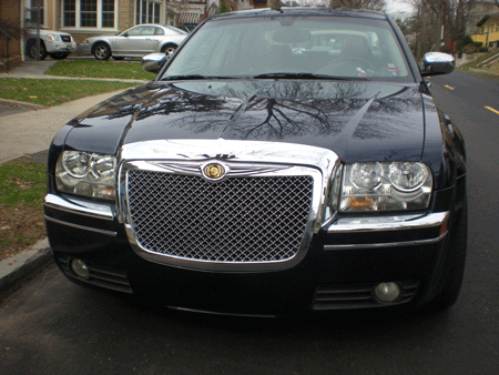 Chevy Grille Emblem Replacement Chrysler 300 Chrome Bentley Mesh Grille