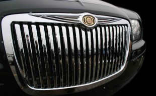 Chrysler 300 chrome vertical grille