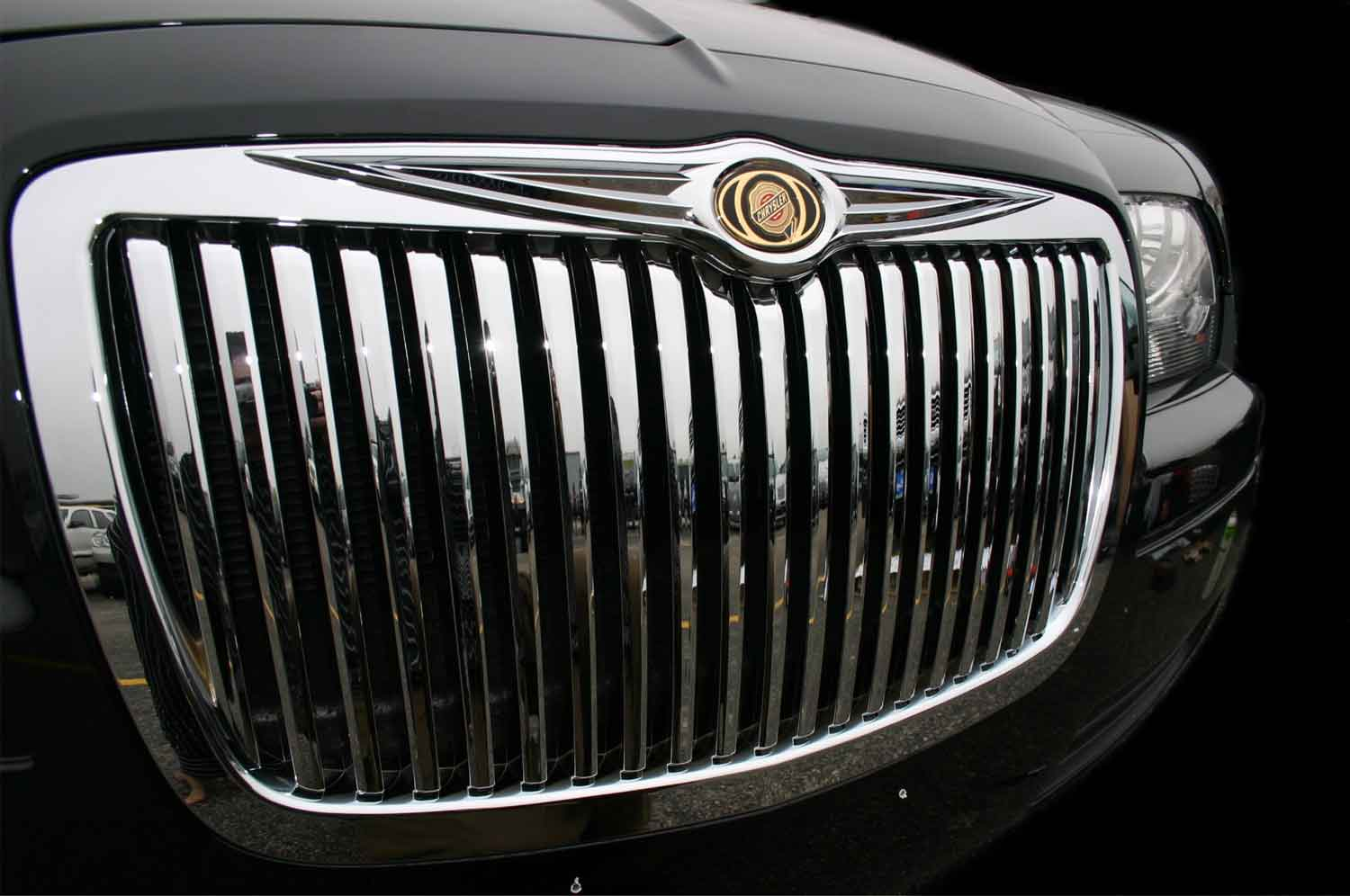 Chrysler 300 Chrome Vertical Grille