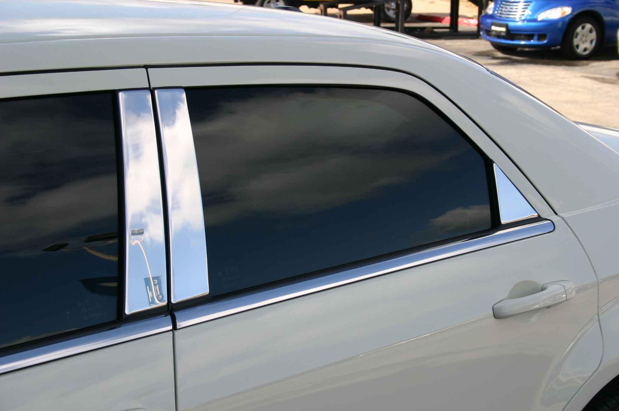 Chrysler 300 Chrome Pillar Post Trim