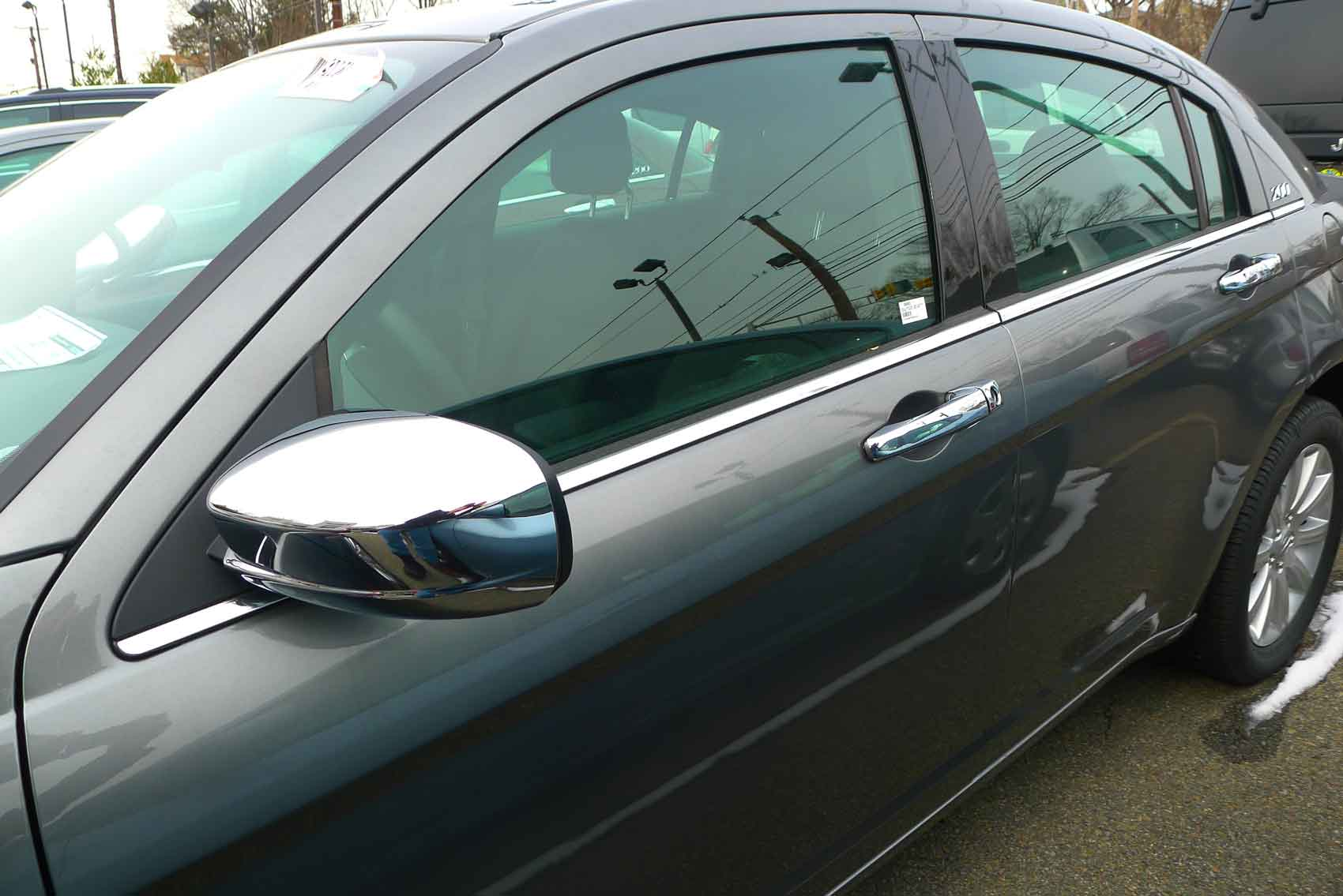 Chrysler 200 Chrome Handle Mirror Cover Trim Package