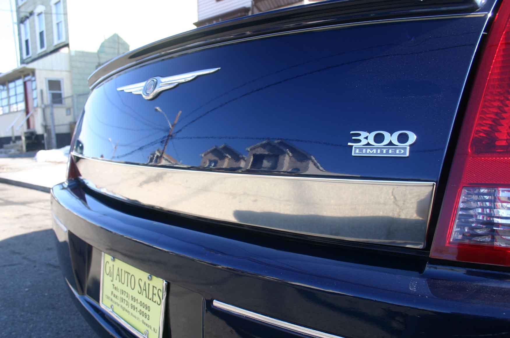 Chrysler 300 Chrome Rear Trunk Trim
