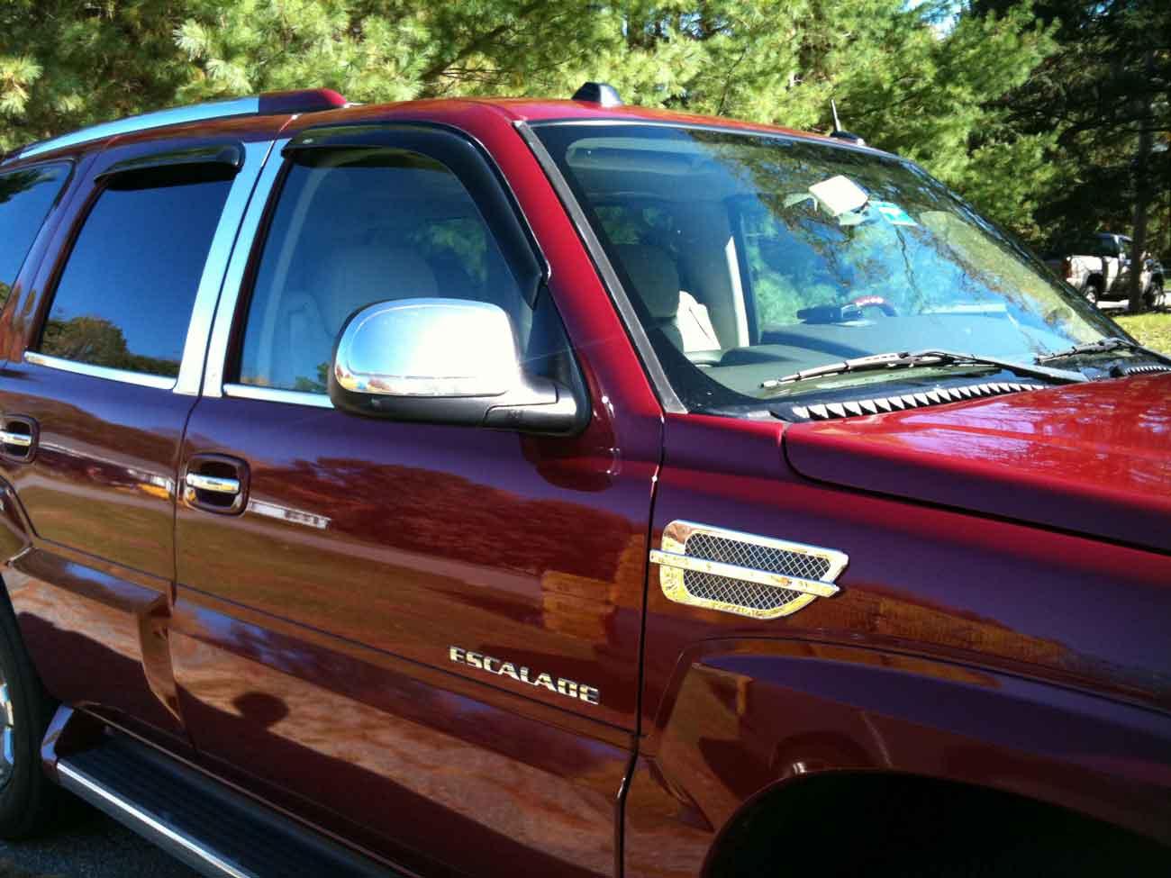 Cadillac Escalade Chrome Pillar Post Trim