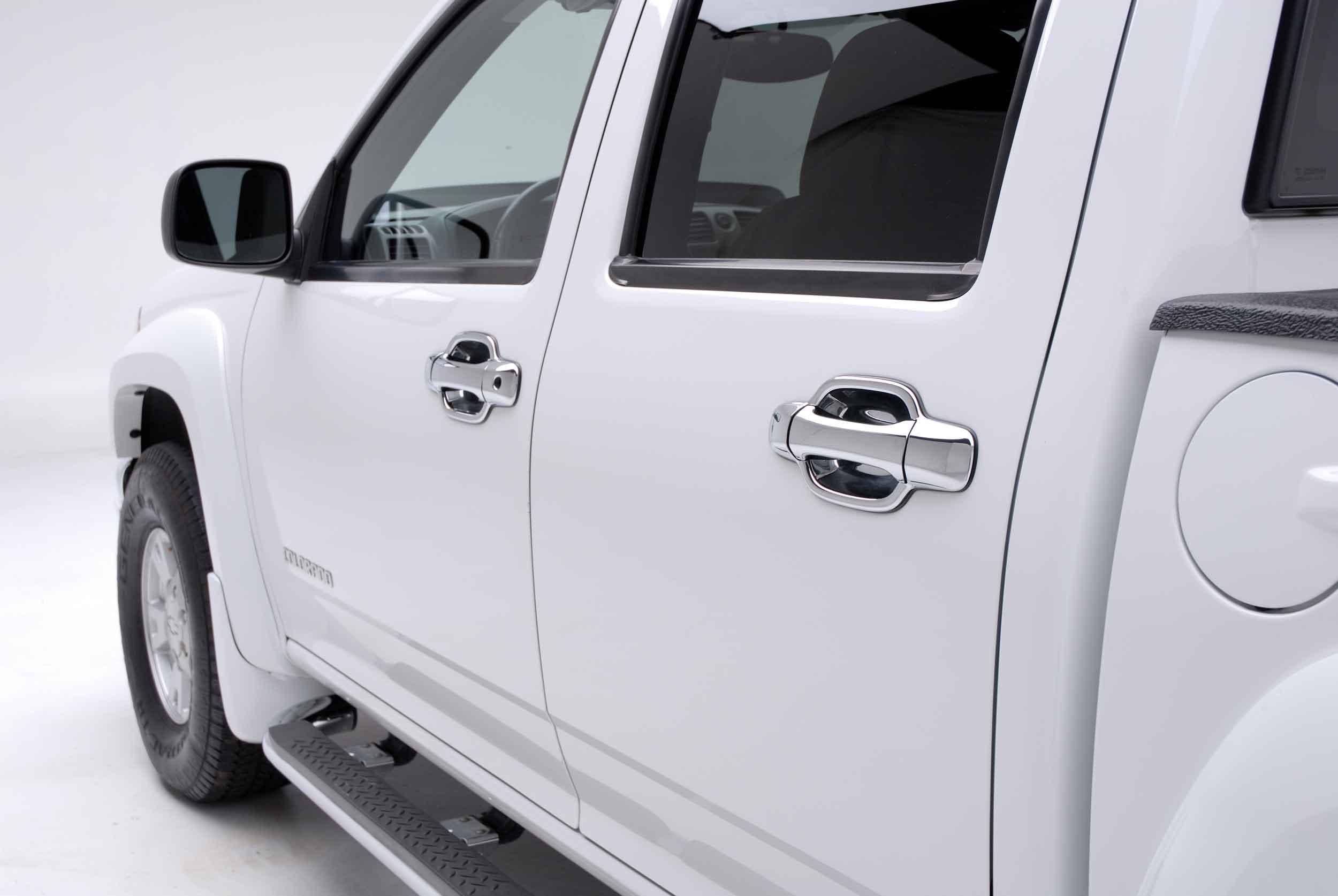 Chevy Colorado Chrome Door Handle / Mirror Cover Trim Package