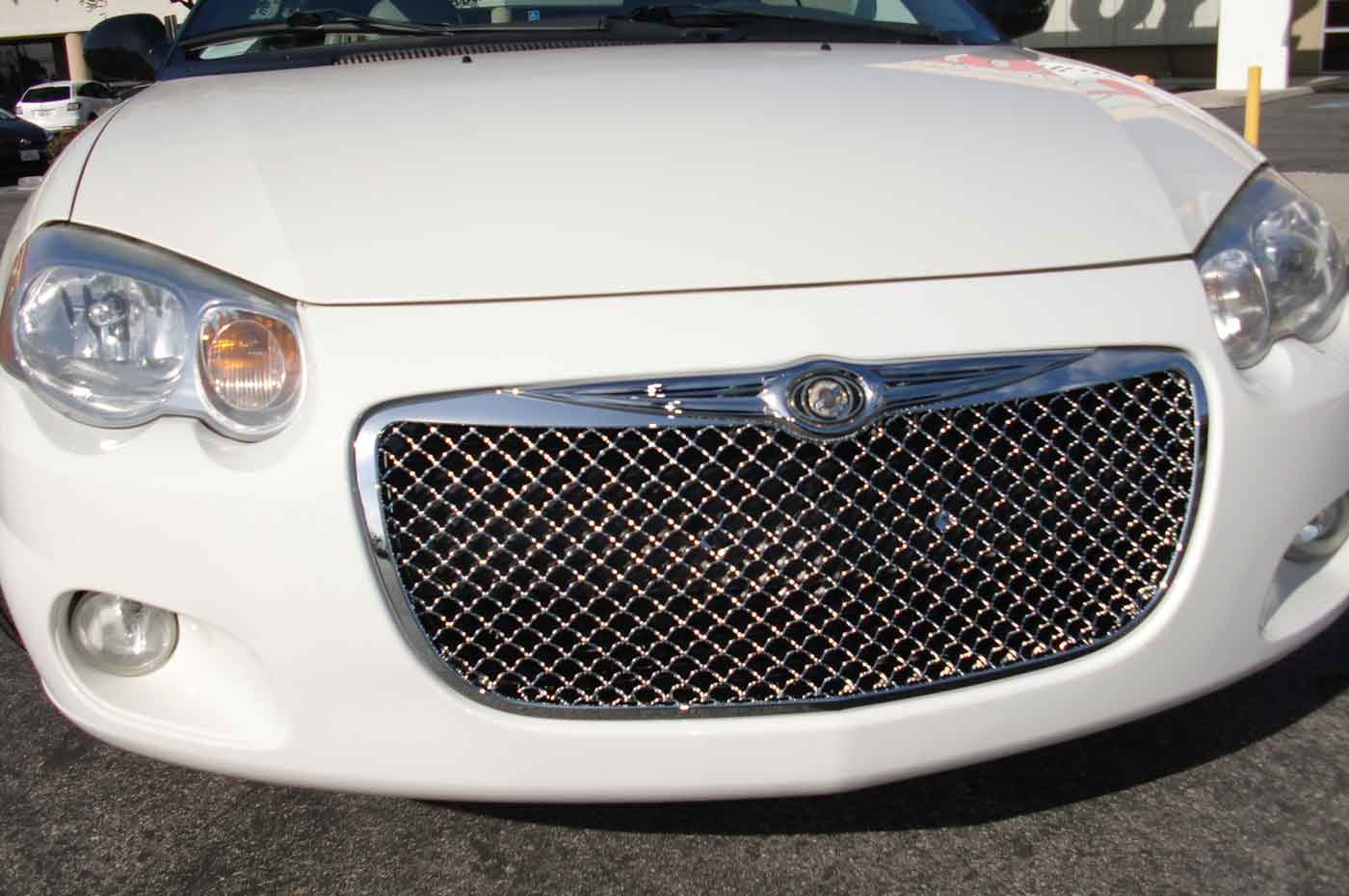 chrome grille mesh for product grill bentley chrysler