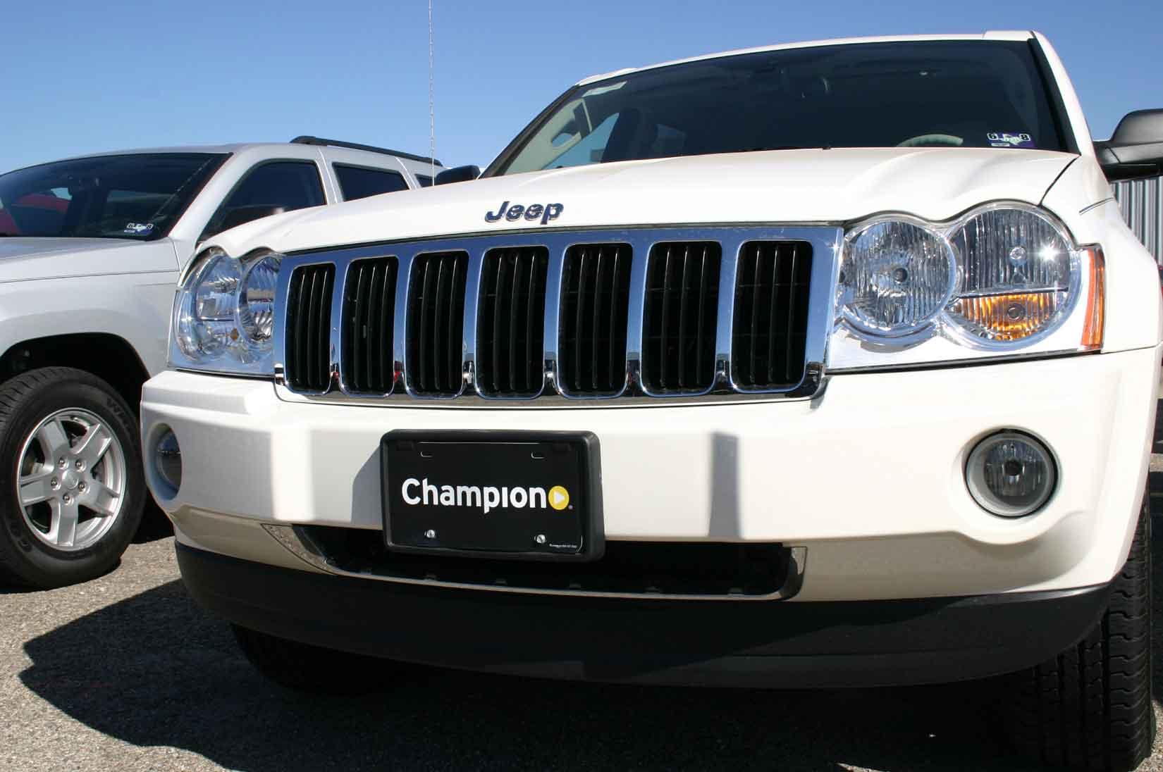 Jeep Grand Cherokee Chrome Grille Insert Overlay Trim