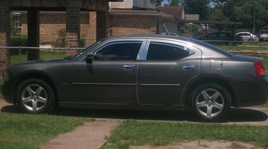 Dodge Charger Chrome Pillar Post Trim Molding Stainless Steel Rain Guards Vent Visors