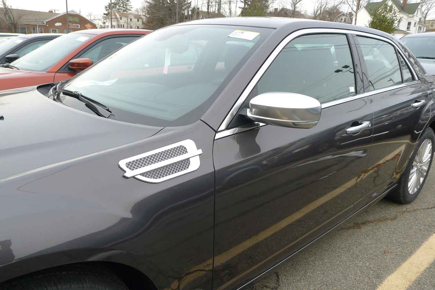 Chrysler fender vents