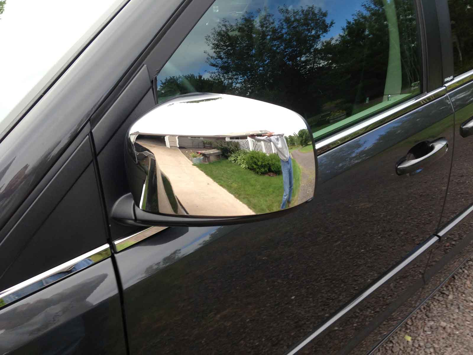 town chrome mirror country chrysler trim caravan dodge grand door handle covers packages package