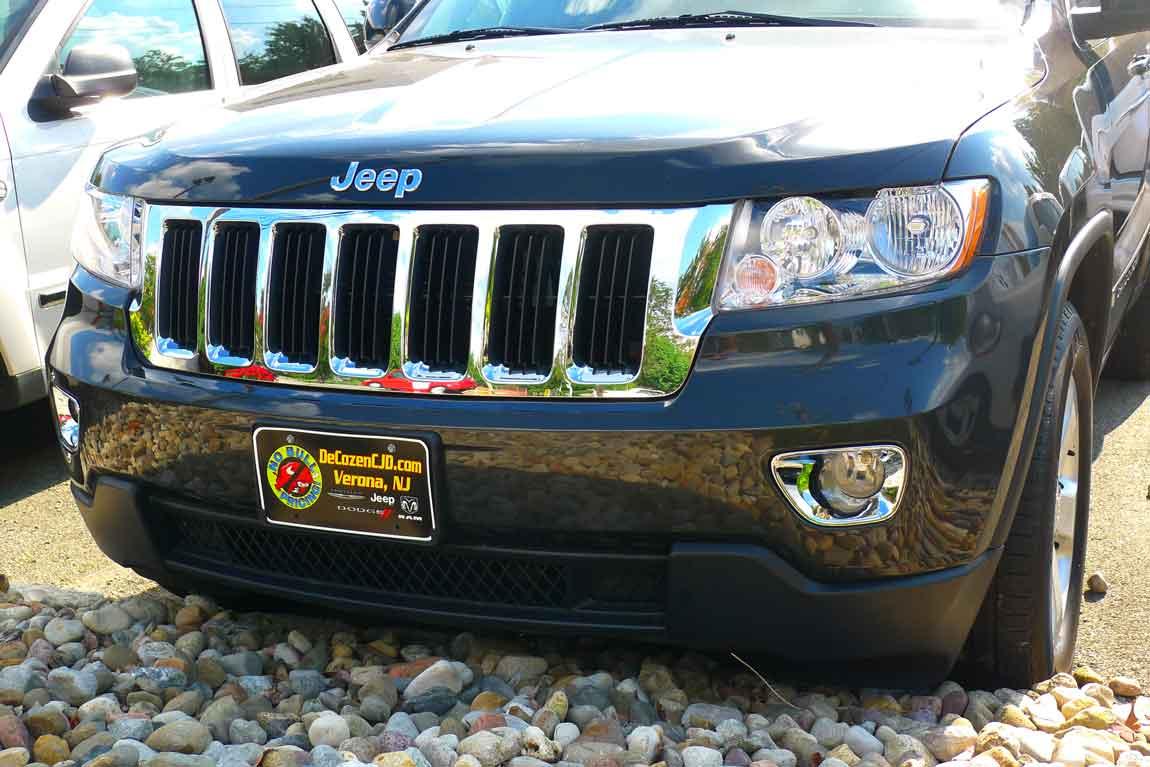 Jeep Grand Cherokee Chrome Fog Light Bezel Cover Trim