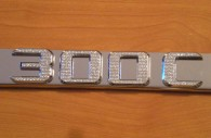 chrysler 300c chrome iced out emblem