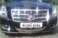 cadillac cts chrome grille insert