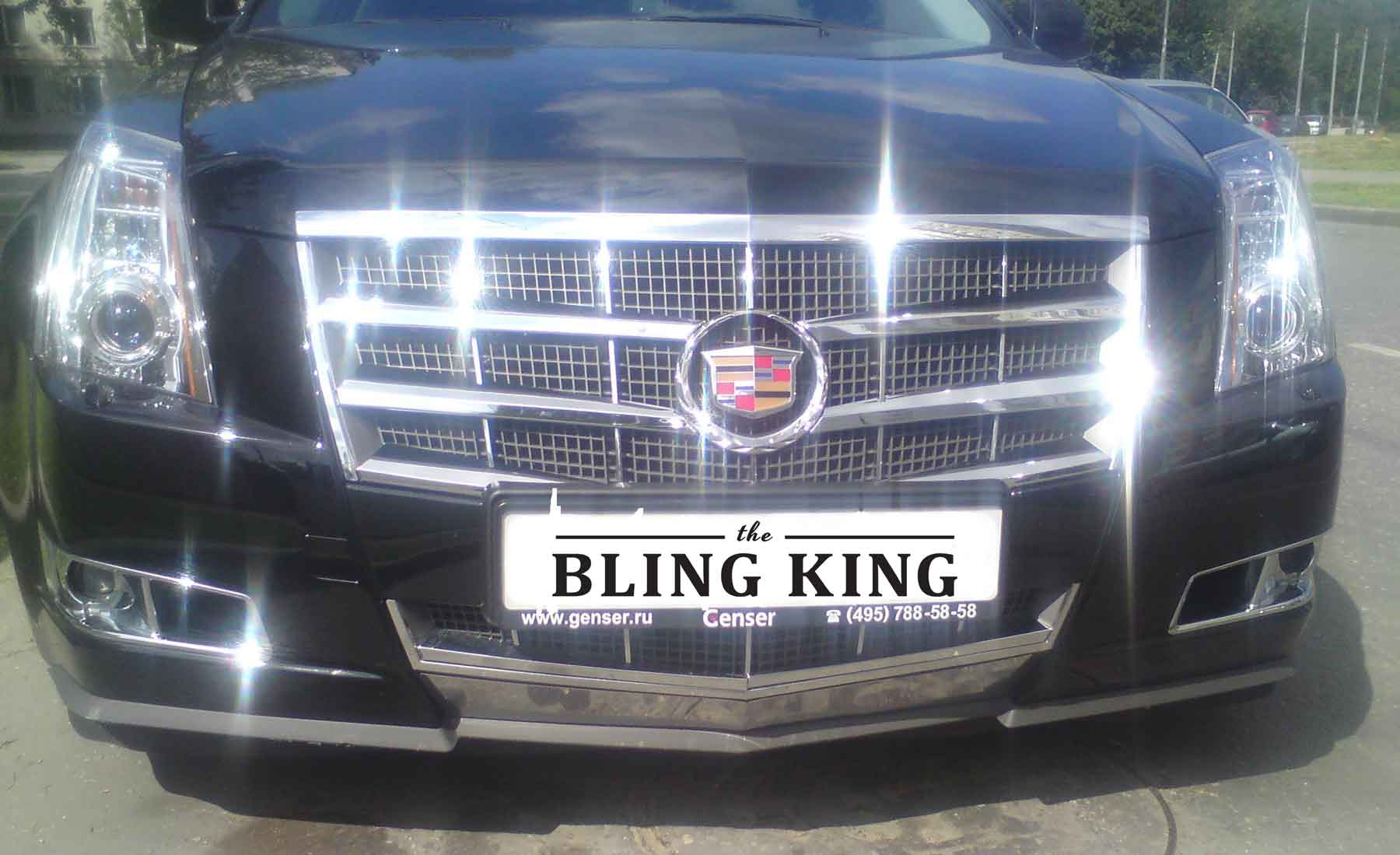Cadillac Cts Chrome Grille Insert Overlay Trim