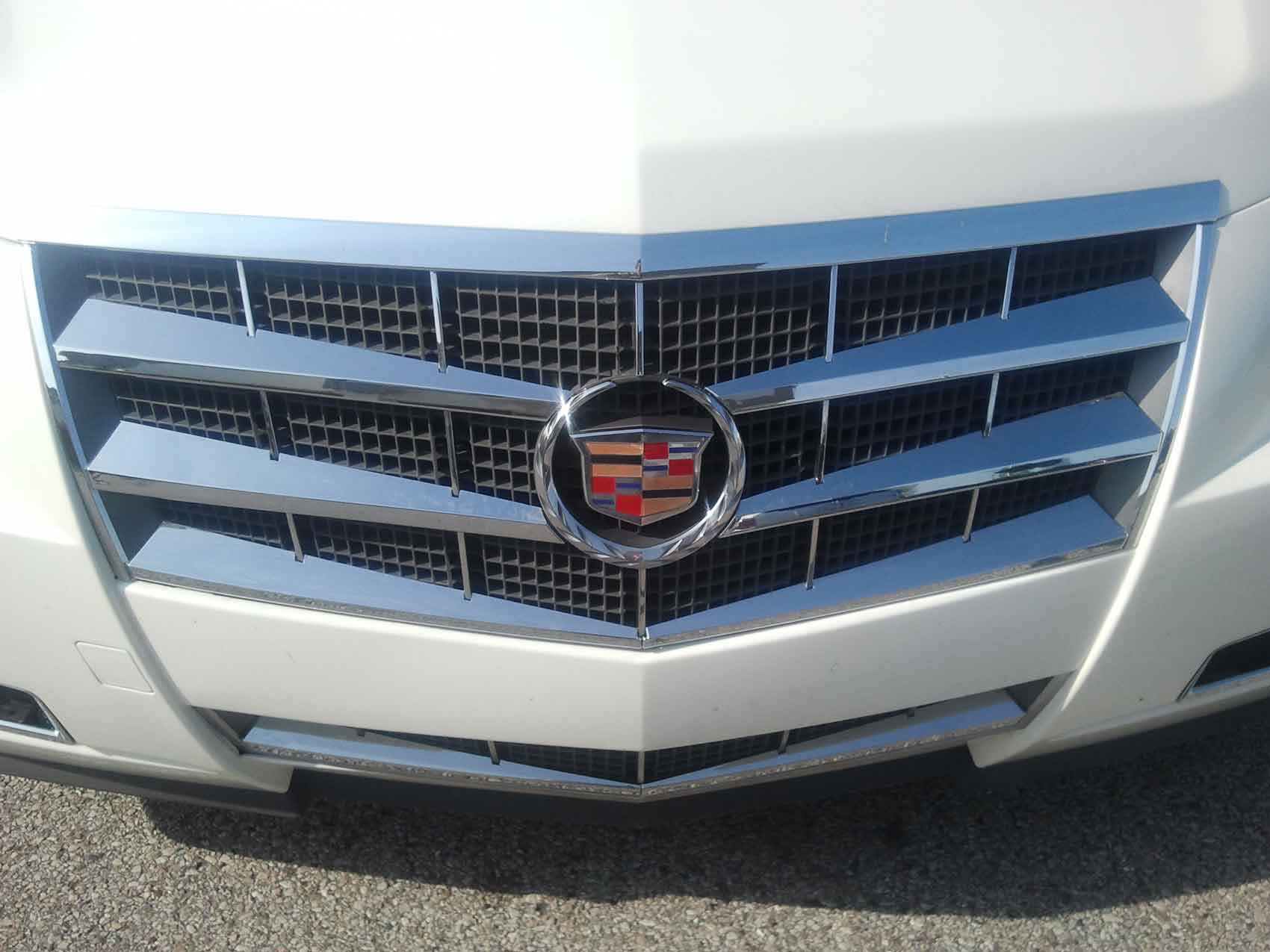 2008 Chevy Silverado For Sale >> Cadillac CTS Chrome Grille Insert Overlay Trim