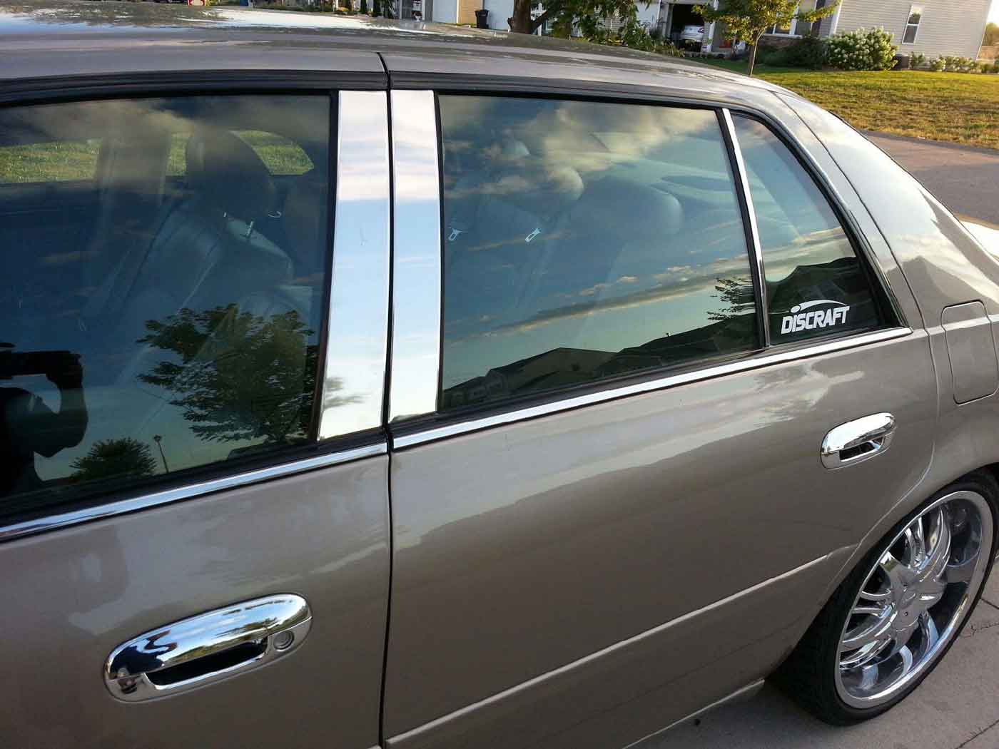 ... cadillac dts chrome door handle covers & Cadillac DTS Chrome Door Handle Cover Trim