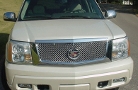 cadillac escalade chrome bentley mesh grille