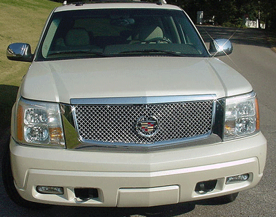 Cadillac Escalade Chrome Bentley Mesh Grille Full ...