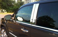 2013 cadillac escalade chrome pillar post trim