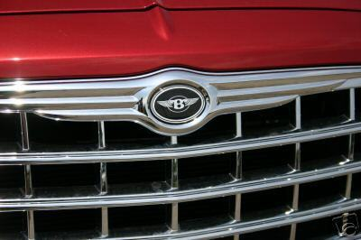 Chrysler 300 Bentley Grille B with wings emblems badges front//trunk//steering