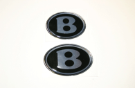 chrysler 300 bentley emblems