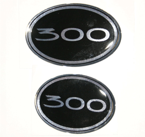 Chrysler 300 Bentley Mesh Grille Emblems Badges 300 Style
