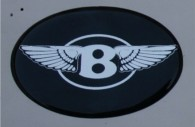 chrysler 300 bentley emblem badge
