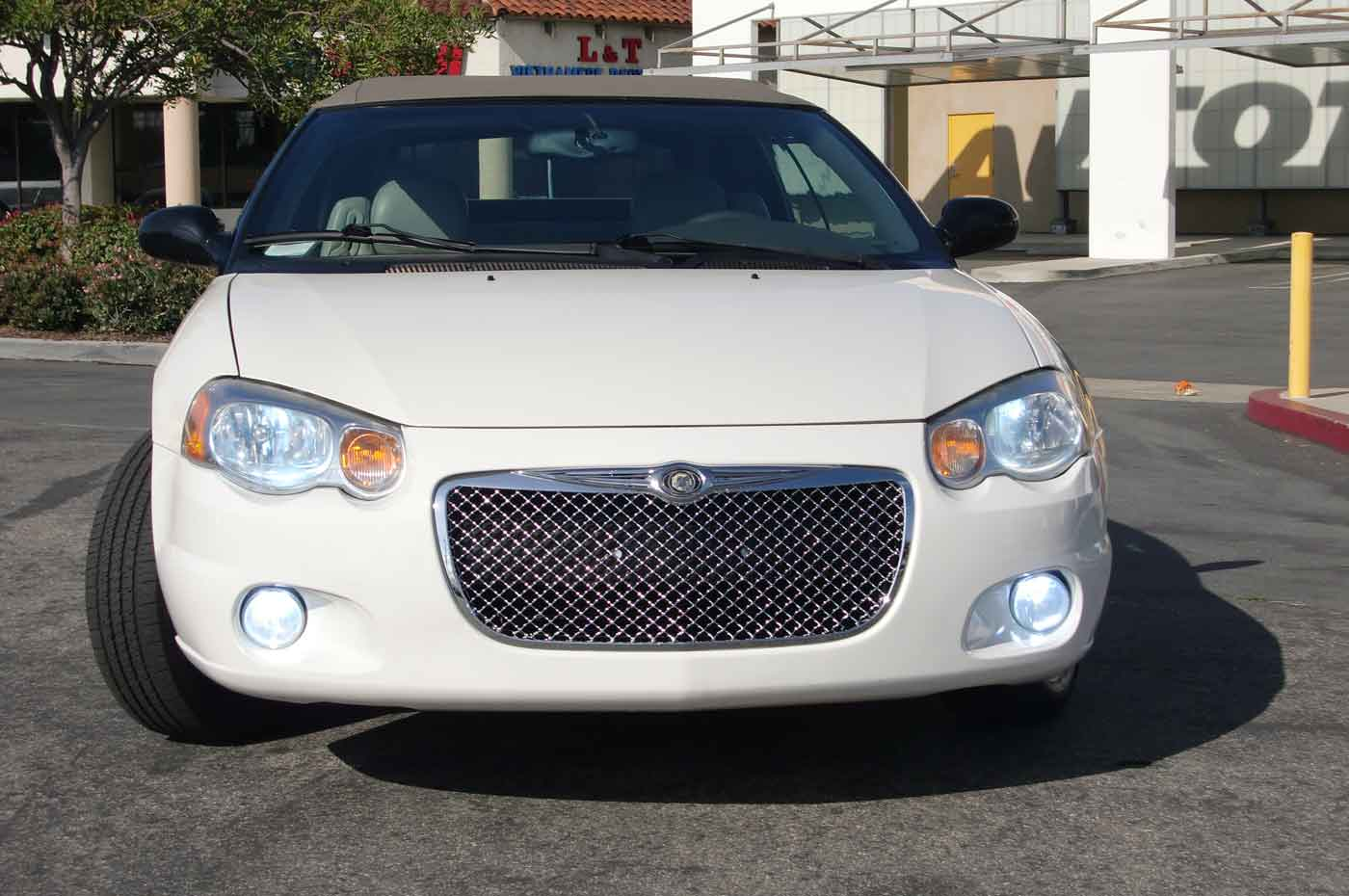 Chrysler Sebring Chrome Bentley Mesh Grille Full