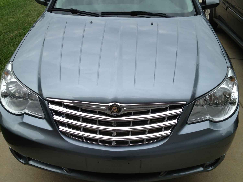 Chrysler Sebring Chrome Grille Grill Insert Overlay Trim on P0700 Dodge Grand Caravan