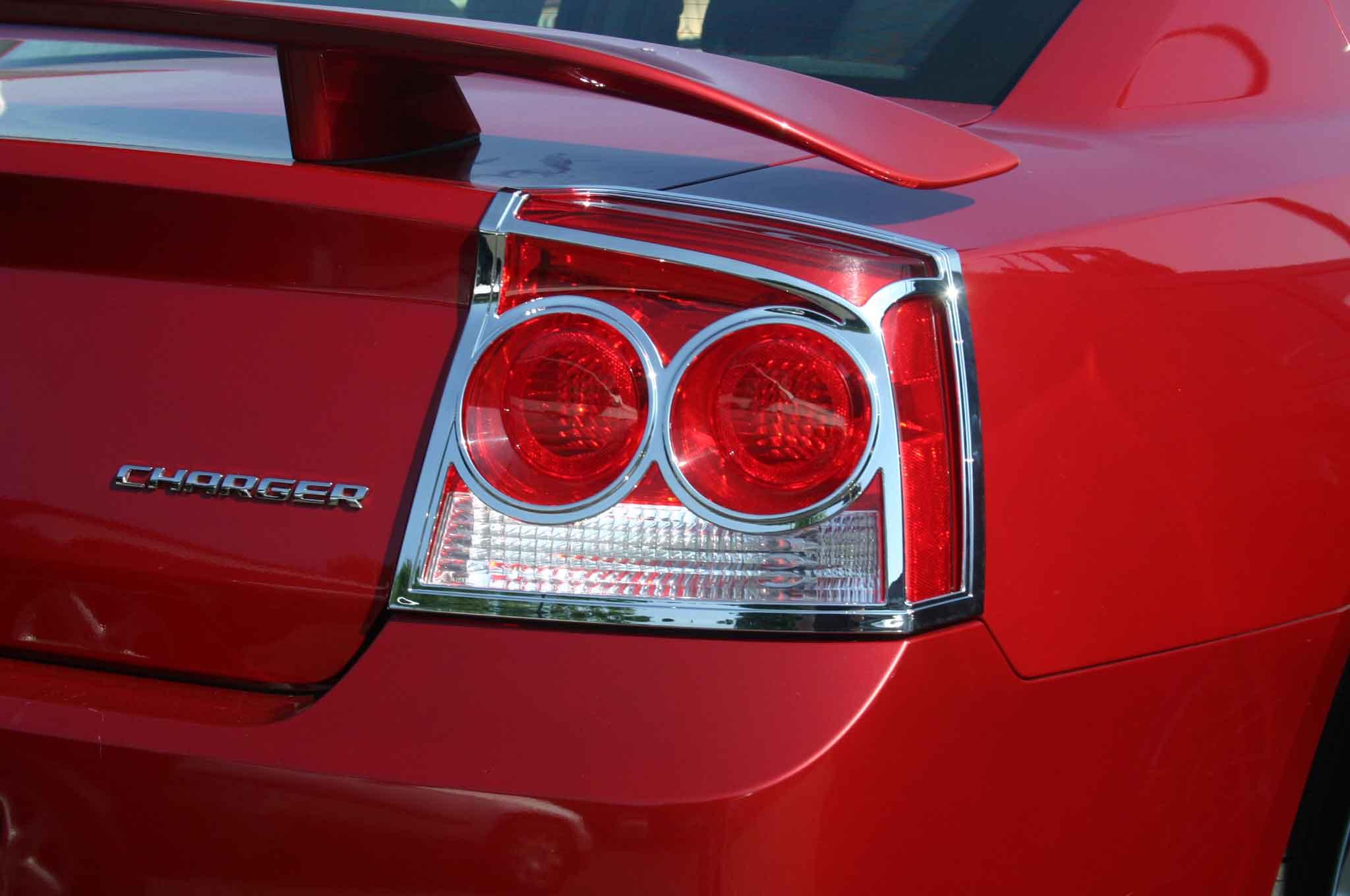 Dodge Charger Chrome Tail Light Bezel Trim