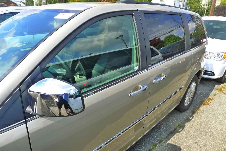Dodge Grand Caravan Chrome Door Handle Mirror Cover Trim