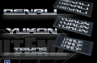Iced Out Emz GMC Denali Yukon Tahoe emblems