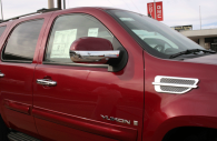 GMC Yukon chrome fender vent