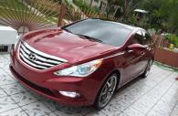 Hyundai Sonata chrome grille insert