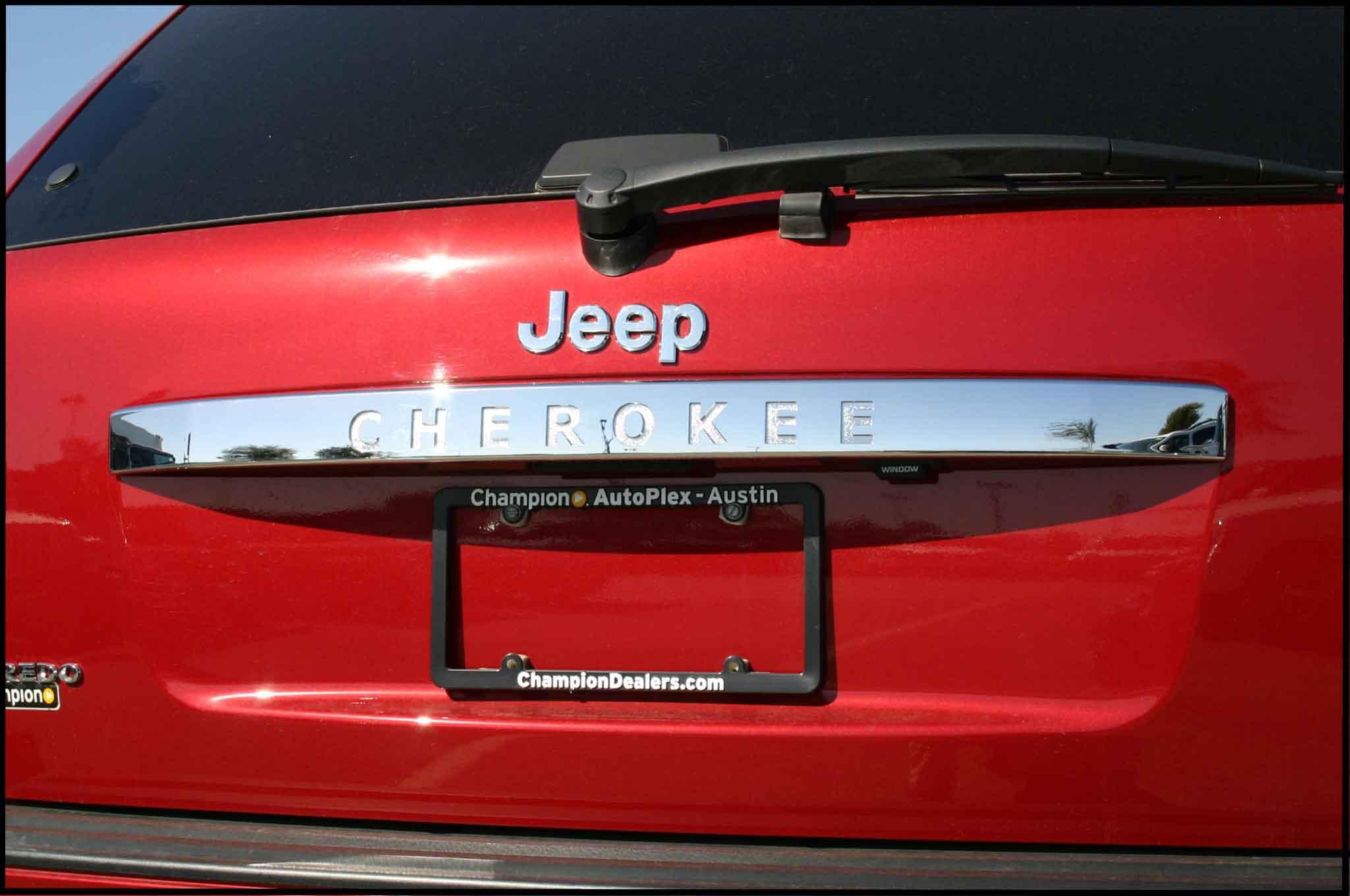 Jeep Grand Cherokee Chrome Rear Lift Tail Gate Handle