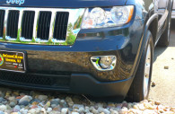 jeep grand cherokee chrome fog light bezel covers