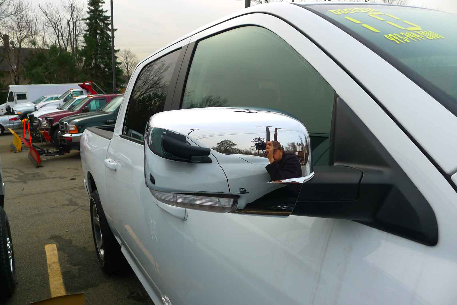 2012 dodge ram chrome mirror covers ... & Dodge Ram Chrome Door Handle / Mirror Cover Trim Package (2013-2016)