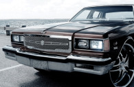 1989 Chevy Caprice Classic chrome mesh grille