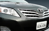 2011 toyota camry chrome grille insert