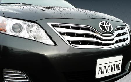 Toyota Camry Chrome Grille Insert Overlay Trim 2010 2011