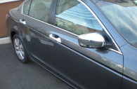 2012 honda accord chrome door handle mirror cover trim