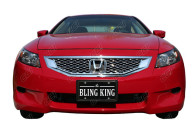 honda accord chrome mesh grille