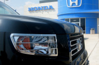 honda ridgeline chrome head light bezel trim