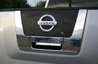 nissan titan chrome tailgate handle cover trim