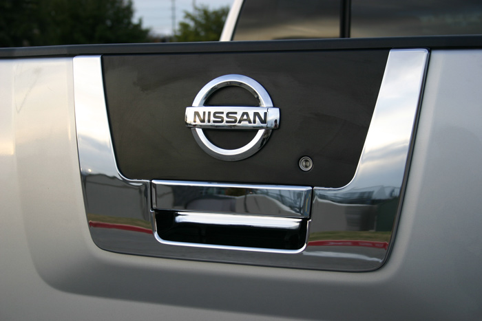 titan nissan chrome trim handle door tailgate gate tail package rear mirror covers packages