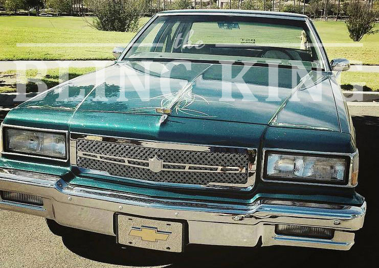 1986-1990 Chevy Caprice Chrome Bentley Dual Weave Mesh Grille