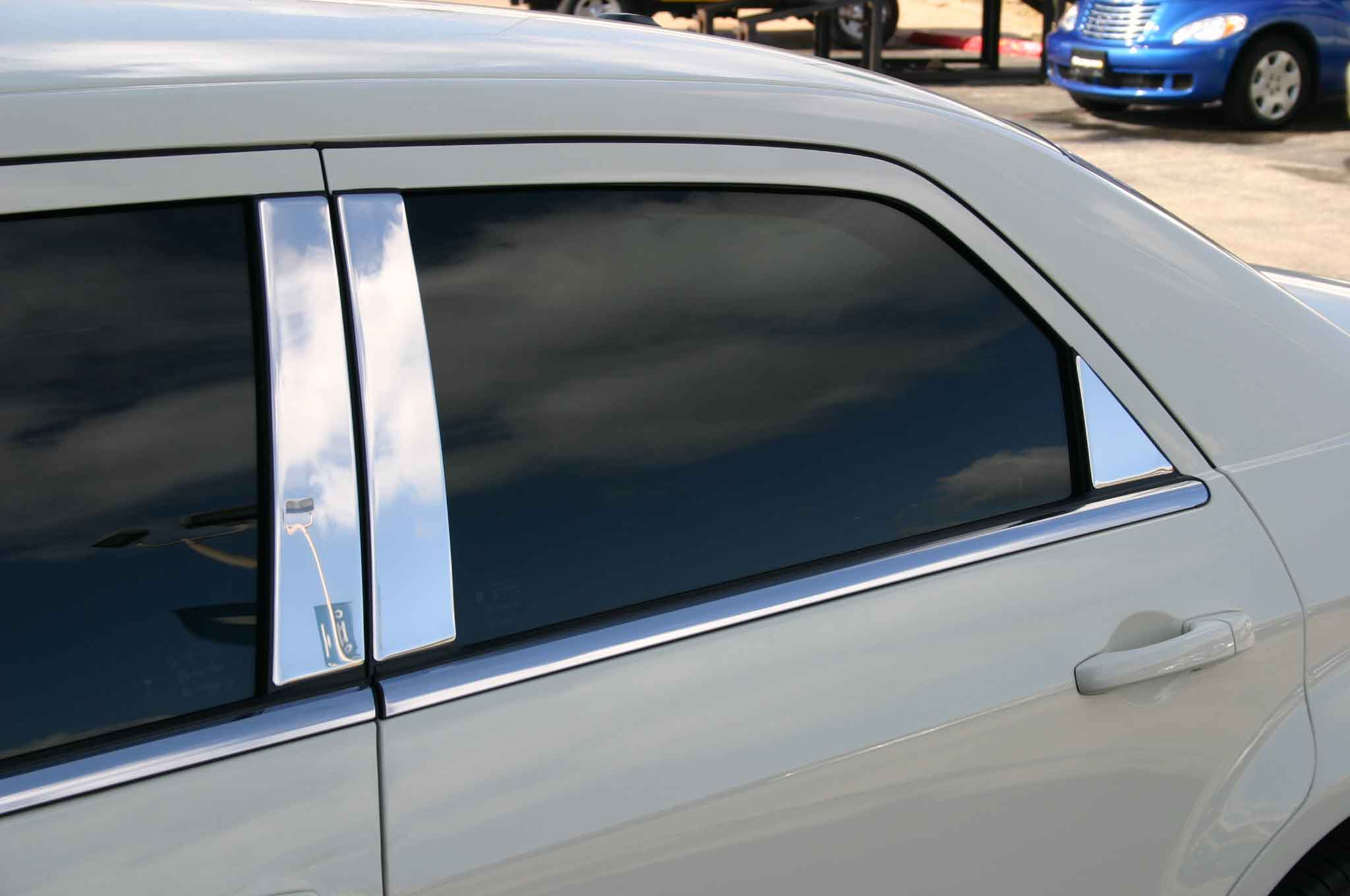 Dodge Magnum Chrome Pillar Post Trim